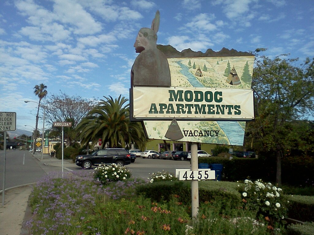 "modoc town ""Modoc Apartments"" -Photo by:"