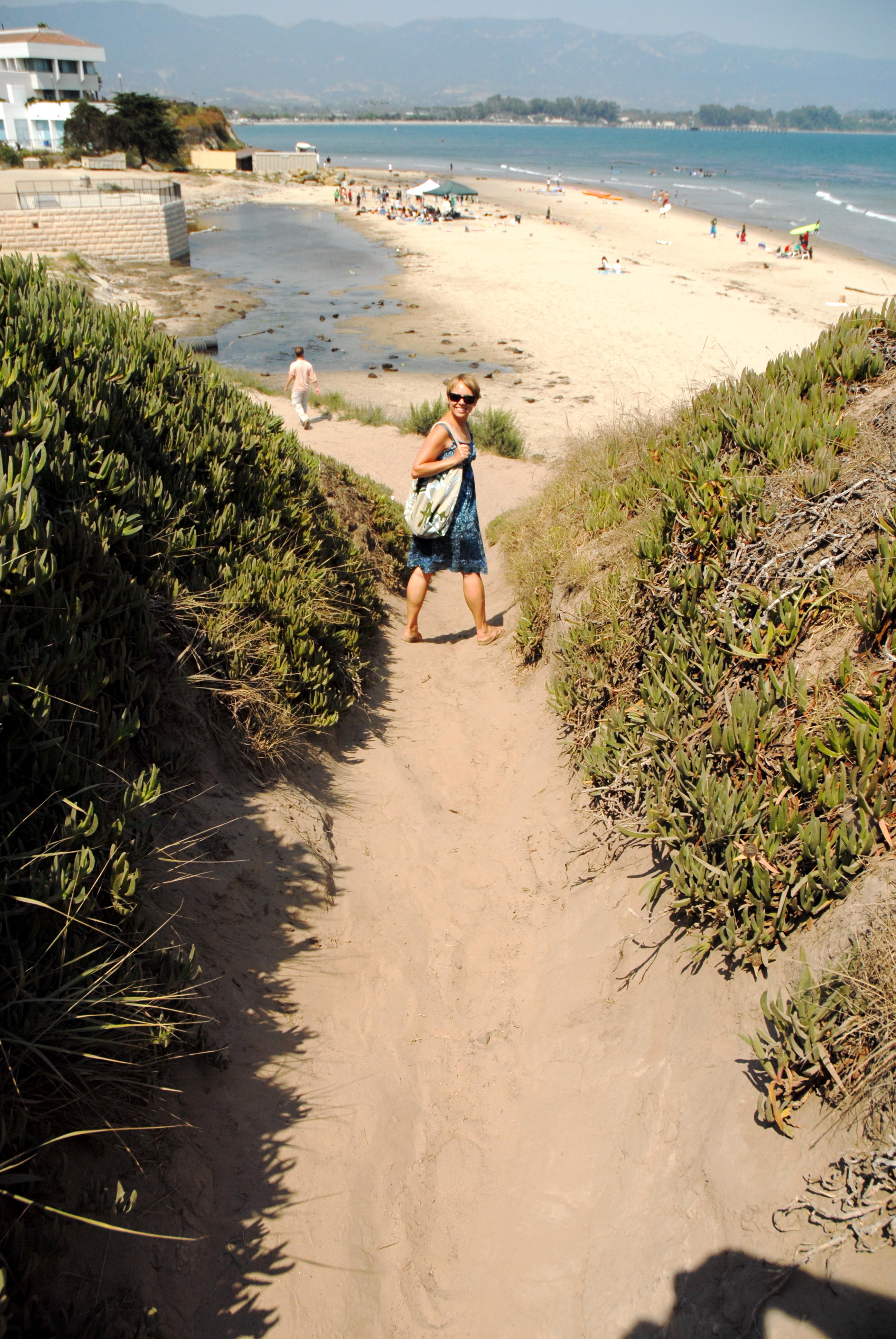 ucsb campus beach ii a composing
