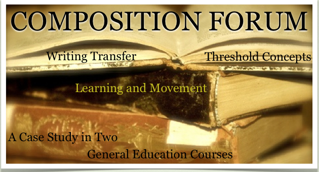 Composition Forum (Fall 2012): Threshold Concepts, Learning, and Movement